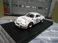 RENAULT Alpine A110 Rallye Tour de Corse 1975 #33 Fantino isola 200 Trofeu 1:43