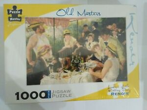1000 piece puzzle Luncheon of the Boating Party Renoir Impressionist painting