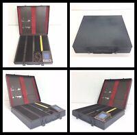 Fodeco Metal Slide File Storage Case w/ Electric Light Slide Viewer - 170 Slides