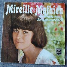 Mireille Mathieu, emmene moi demain avec toi / roma roma roma, SP - 45 tours