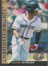 2017 Charlotte Knights Jacob May RC Rookie Chicago White Sox
