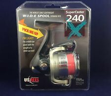 NEW! U.S. Reel - SuperCaster 240X Aluminum - Spinning Reel - Editor's Pick