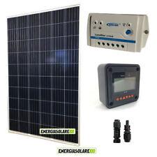 Kit Solare Fotovoltaico 270W 24V Regolatore PWM 10A LS1024B con Display MT-50