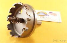 "2-3/8"" Carbide Tipped Hole Cutter 2-3/8 TcT Tungsten Carbide Holesaw Drill Hog"