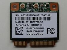 Atheros AR9382 AR5BHB116 Mini PCIE Dual Band WiFi Wireless WLAN Card 2T2R - W008