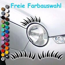 A005# Aufkleber VW Lupo Wimpern Autowimpern Auto Tuning Sticker Neu Volkswagen