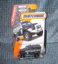 SWAT TRUCK #78 Matchbox POLICE SUV 2015 MBX HEROIC RESCUE Mattel Hot Wheels