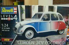 "Revell 1:24 07653 Citroën 2 CV Cocorico ""Neu""(372)"