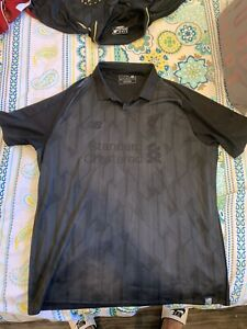 Near New  Liverpool LFC New Balance Rare Blackout Jersey SOLD OUT 18/19 Size XL
