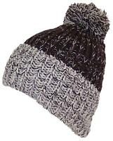 1dcbf2f85bb Gray Winter Hat Attack Lightweight Ribbed pom pom Popsugar Snow ...