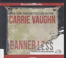 BANNERLESS by CARRIE VAUGHN ~UNABRIDGED CD AUDIOBOOK