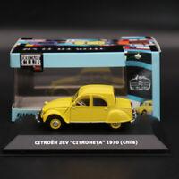 IXO CITROEN 2CV Citroneta 1970 Chile 1:43 Car Diecast Toys Models Collection