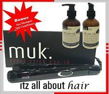 MUK Style Stick 230 IR Infrared Hair Straightener Iron 230°C  Styler Bonus S&C