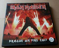 IRON MAIDEN - prague on fire 2013  -  lp--BOX-test pressing