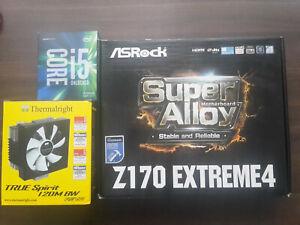 PC Bundle OVP: I5 6600K + Mainboard Z170 Extreme4 + CPU Kühler (guter Zustand)