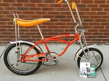 Schwinn Stringray Orange  Krate limited edition 1998 99 repop w/ Manual Rare