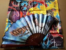 Age of Wushu Collectable Scarf and Folding Fan with Jet Li Snail Games E3 2013