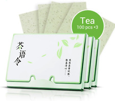 Tissue Paper Green Tea Oil Absorbing Cleanser Facial Face Acne Blotting 100Pcs*3