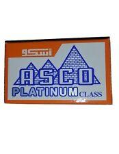 25 ASCO Platinum Class Double Edge Safety Razor Blades ---NEW---