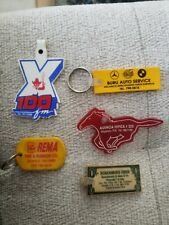 Puerto Rico 1980s Vintage Key Chain Lot / Rare Collectible
