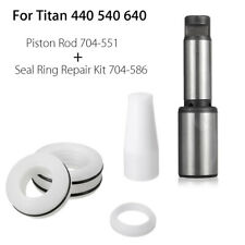 For Titan 440 540 640 Piston Rod 704-551 With Airless Seal Repair Kit 704-586