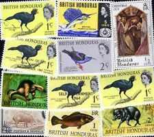 Honduras britannique - British Honduras 50 timbres différents