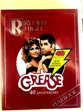 GREASE Blu-ray+ DVD + Digital 40th Anniversary Rydell High Yearbook Edition NEW