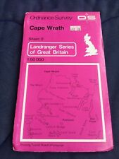 Cape Wrath / Ben Hope - Old 1976 Ordnance Survey Landranger Second Series Map 9