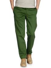 DIESEL chi-regs GREEN pantaloni TAGLIA 28 100% AUTENTICO