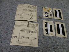 ABT decals 1/72 Set# 32 P-51D Mustang Jumpin Jaques Lot 1    C43