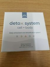 DETOX SYSTEM Cell+Body Daily antioxidant and detoxification system -60 capsules