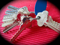 5 Pin Depth & Space Key Set. Depths 0-10-Suits Lockwood, Whitco C4,LW4-Free Post