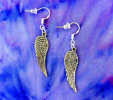 ANGEL WINGS EARRINGS~BAPTISM FIRST HOLY COMMUNION CONFIRMATION RELIGIOUS GIFT