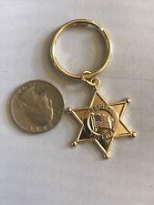 Universal Deputy Sheriff Mini Badge Shield Police (keychain)NEW