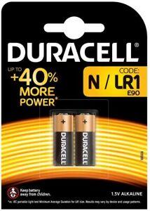 Pack of 2 Duracell Battery Alkaline for Camera Calculator 1.5V +40% More Power