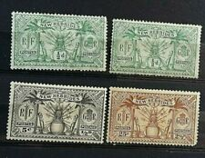 Mint Hinged French Postage Stamps