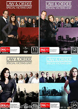 Law And Order SVU - Special Victims Unit Seasons 11 12 13 14 : NEW DVD