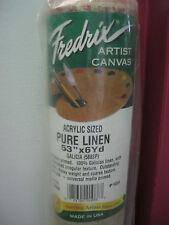 Fredrix  Artist Canvas  Galicia  588 SP  Linen  Roll   53'' x 6yds