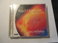 Sega Dreamcast Web Browser (Dreamcast) W/ CASE & MANUAL