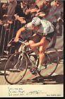 PIERRE MARTELLOZZO cp Signée cyclisme PEUGEOT Tour de FRANCE Cycling ciclismo