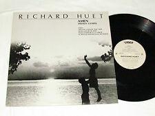 """RICHARD HUET Amen (Medley Gospel) 12"""" SINGLE 33rpm LP Vinyl Album VAMP VM-1201"""