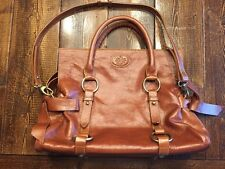 Beautiful Brown Quality Leather Satchel Cross Body Bag Mulberry?