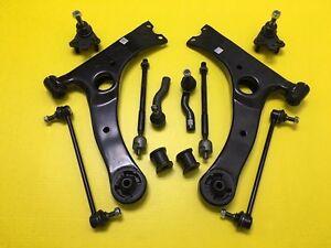 Scion TC 05-10 Full Kit Repair Suspension Control Arm Ball Joint Tie Rods Links