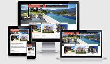 Webdesign Responsive Webseite Komplette Homepage Professioneller Internetseite