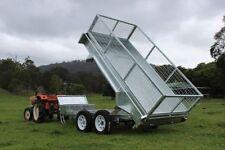 Heavy Machinery Dump Trailers 2 Axles