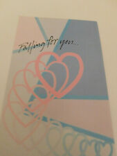 """NEW """"Falling for you... All Over Again!"""" ANNIVERSARY GREETING CARD"""