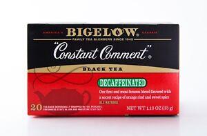 Bigelow - Decaffeinated Constant Comment - Black Tea - 20 Tea Bags