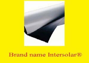 "12"" x 5' roll flexible White Magnetic Car Vehicle advertising sheet sign vinyl"