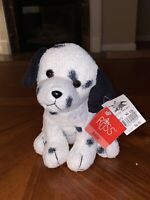 Russ Berrie Stuffed Dootie DALMATIAN Dog Plush Stuffed Animal Toy 5""
