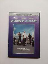 Fast Five (DVD, 2011) VIN DIESEL/PAUL WALKER